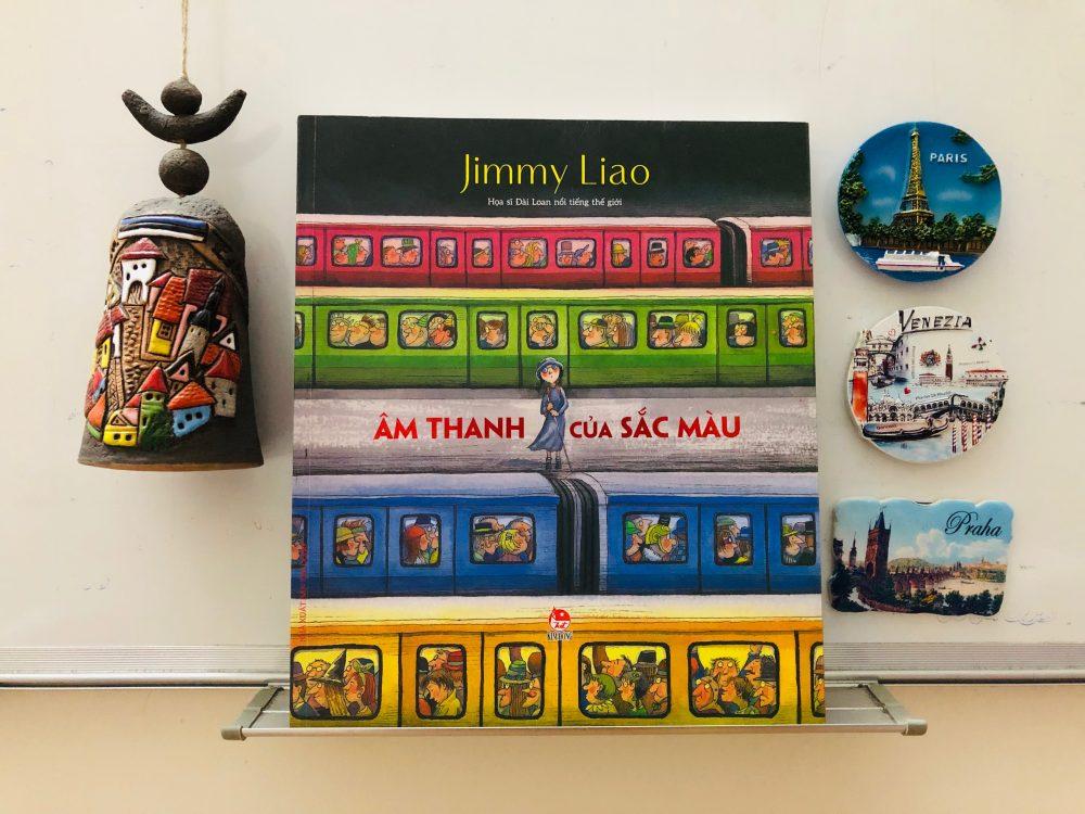 Review sách âm thanh của sắc màu - Jimmy Liao